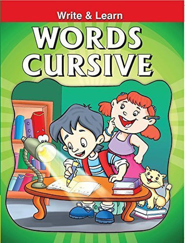 Buy Words Cursive [Apr 19, 2010] B Jain Publishing online for USD 7.86 at alldesineeds