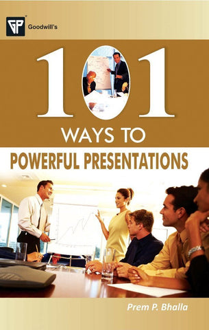 101 Ways to Powerful Presentations [Paperback] [Jan 01, 2011] Prem P. Bhalla] [[Condition:New]] [[ISBN:8172455224]] [[author:Prem P. Bhalla]] [[binding:Paperback]] [[format:Paperback]] [[edition:1]] [[manufacturer:Goodwill Publishing House]] [[publication_date:2011-01-01]] [[brand:Goodwill Publishing House]] [[ean:9788172455224]] [[ISBN-10:8172455224]] for USD 13.62