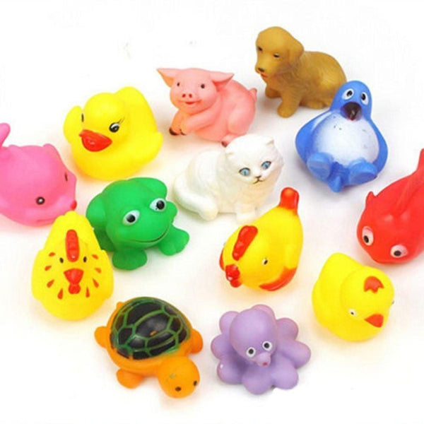 Animal Bath Toys (Assortment of 13 toys) - alldesineeds