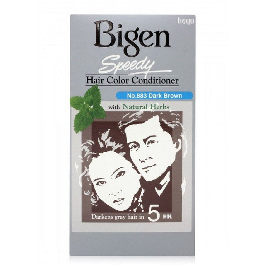 Buy 2 Pack Bigen Speedy Hair Color, Dark Brown 883 150gms each online for USD 25.5 at alldesineeds