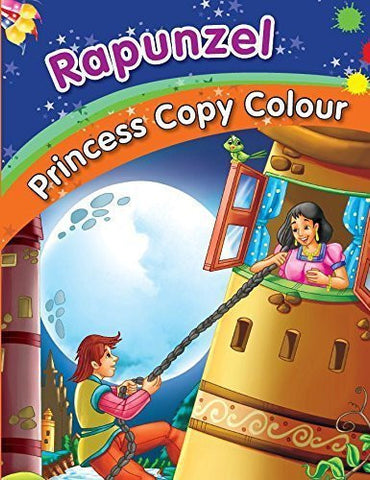 Buy Rapunzel Colouring Book [Jul 16, 2014] Pegasus online for USD 7.42 at alldesineeds