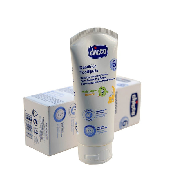 Chicco 50ml Toothpaste (Apple-Banana ) - alldesineeds