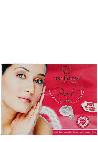 2 Pack Oxyglow Pearl Facial Kit, 73gms each - alldesineeds