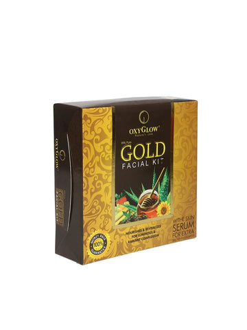 Buy Oxyglow Gold Facial Kit, 165g online for USD 22 at alldesineeds