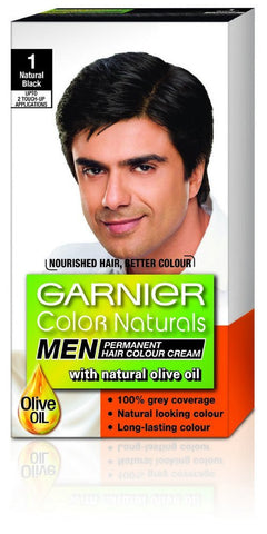 Buy 3 Pack Garnier Color Naturals Men, Natural Black, 36ml+24g each online for USD 12.45 at alldesineeds