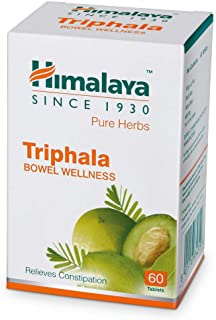 10 Pack of Himalaya Wellness Triphala Bowel Wellness |Relieves constipation| - 60 Tablets