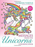 Messages from the Unicorns Coloring Book: Includes a Unicorn Meditation Audio Download Paperback – 29 Nov 2016
