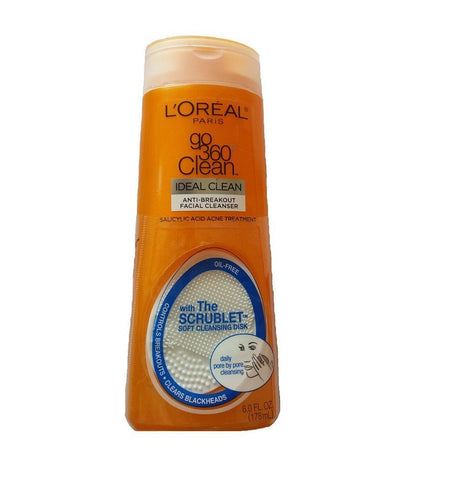 L'Oreal Go360 Anti Brkout Facial Cleanser, 178ml