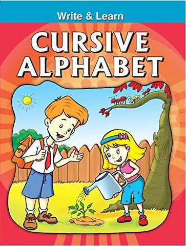 Buy Cursive Alphabets (Write & Learn) [Paperback] [Apr 01, 2008] Pegasus online for USD 7.86 at alldesineeds
