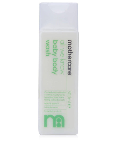 Mothercare All We Know Baby Body Wash (300ml) - alldesineeds