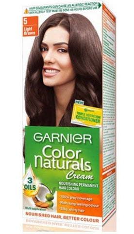 Buy 2 Pack Garnier Color Naturals Regular Pack, Light Brown, 67.5ml+40g each online for USD 12.45 at alldesineeds