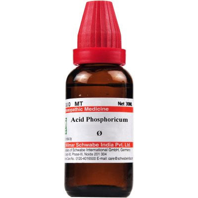 Buy 2 x Willmar Schwabe India Acid Phosphoricum 1X (Q) (30ml) each online for USD 16.87 at alldesineeds