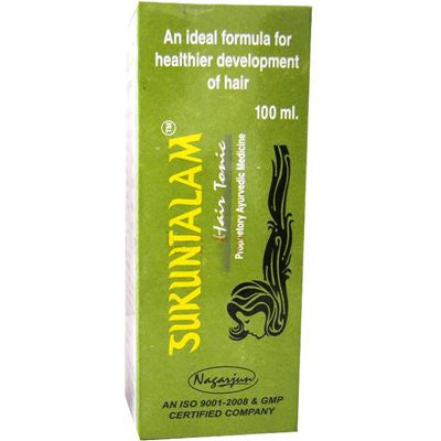 Nagarjuna Sukuntalam Hair Tonic (100ml)