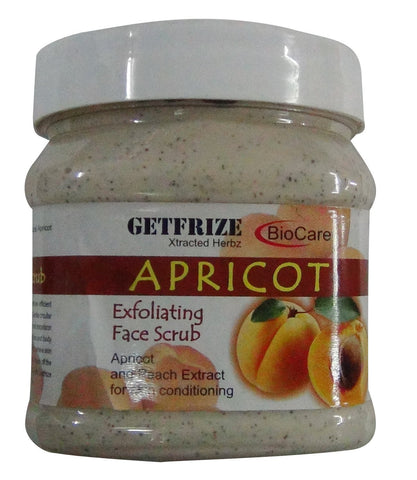 Bio Care Apricot Face Scrub 500ml - alldesineeds