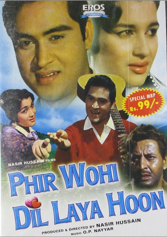 Buy Phir Wohi Dil Laya Hoon online for USD 11.94 at alldesineeds