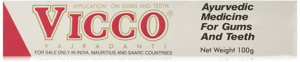 Buy Vicco Vajradanti Toothpaste 100 gms online for USD 11.34 at alldesineeds