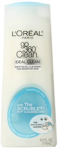 Buy L'Oreal Go360 Sensitive Skin Cleanser, 178ml online for USD 15.36 at alldesineeds
