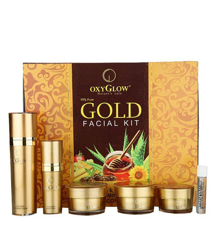 2 Pack Oxyglow Gold Facial Kit, 53gms each - alldesineeds