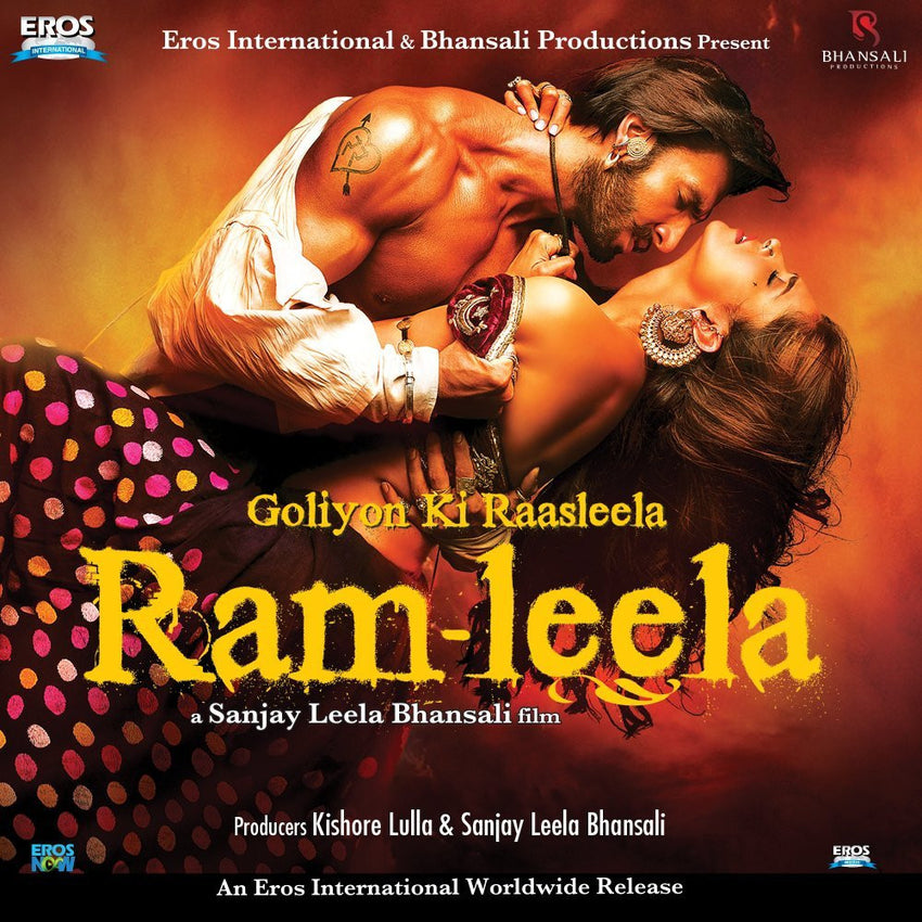 Buy Goliyon Ki Raasleela Ram - Leela online for USD 13.71 at alldesineeds