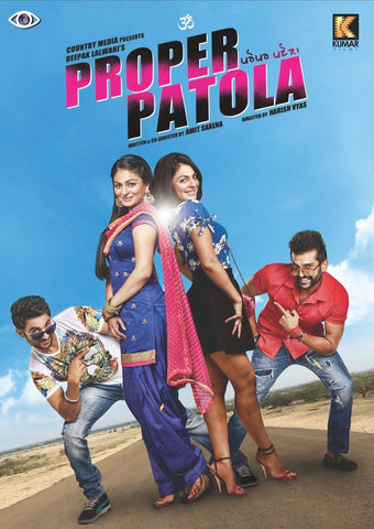 Buy Proper Patola: PUNJABI DVD online for USD 8.99 at alldesineeds
