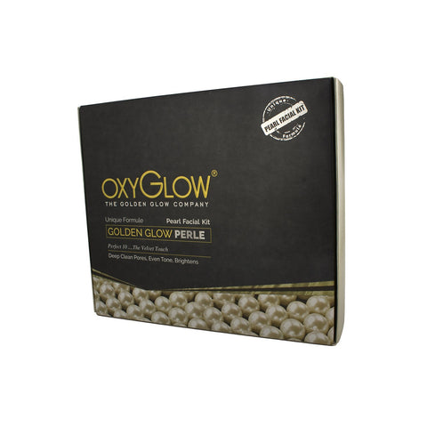 Oxyglow Golden Glow Radiance Pearl Facial Kit, 260g - alldesineeds