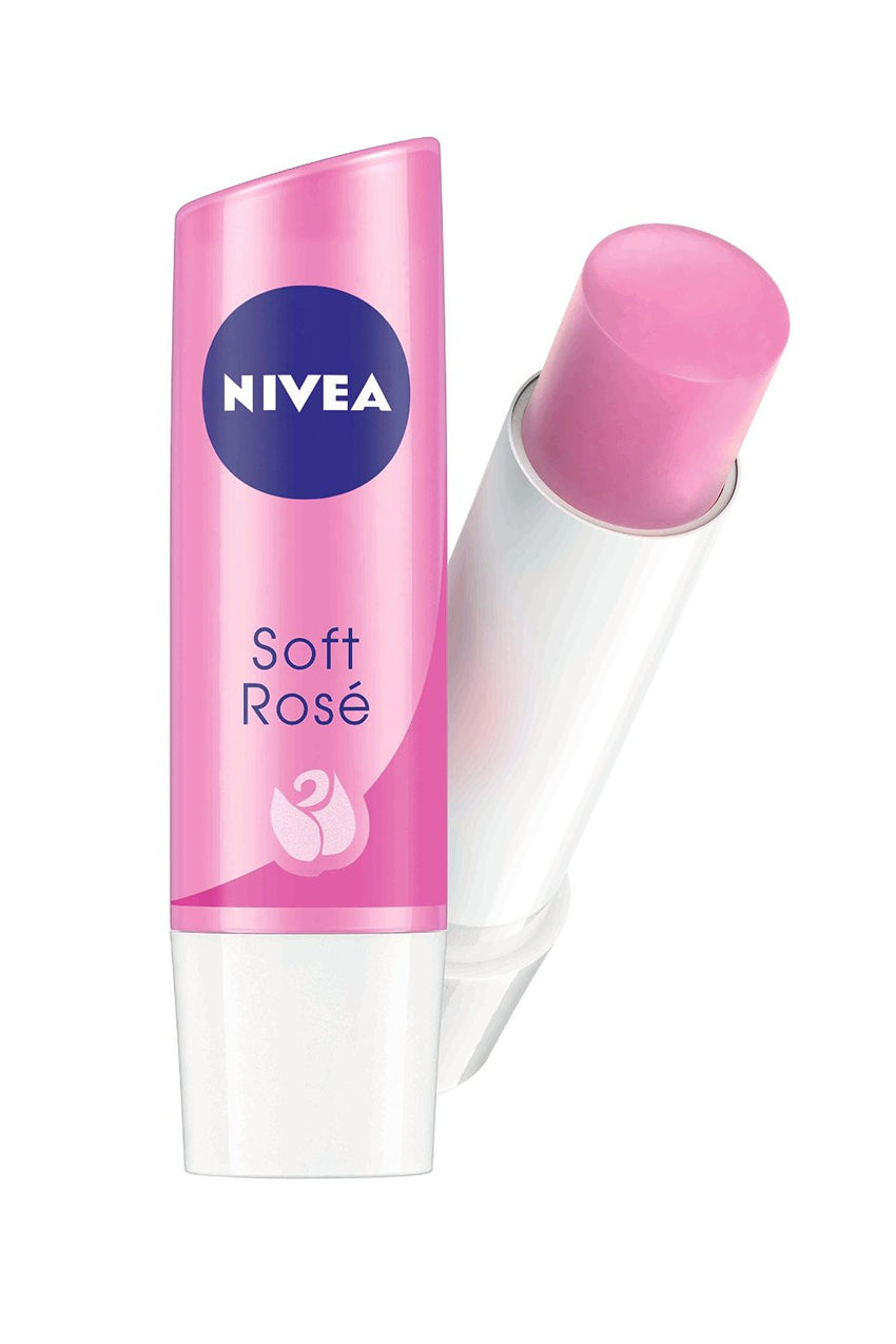 Buy 2 Pack Nivea Lip Care Soft Rose, 4.8 gms each online for USD 10.2 at alldesineeds