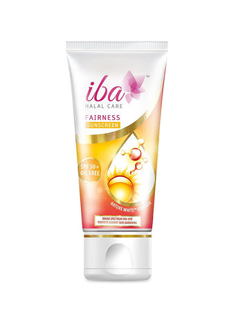 2 Pack Iba Halal Care Fairness Sunscreen SPF 50, 60gms each - alldesineeds