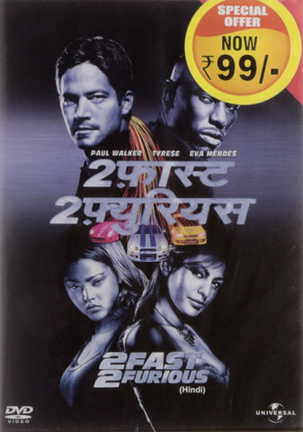 Buy 2 Fast 2 Furious (Hindi) online for USD 11.94 at alldesineeds