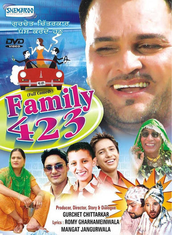 Buy Family 423: PUNJABI DVD online for USD 8.3 at alldesineeds