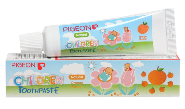Pigeon Children Toothpaste (Orange) 45g - alldesineeds