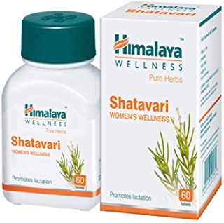 10 Pack of Himalaya Wellness Pure Herbs Shatavari Women's Wellness | Promotes lactation | - 60 Tablets