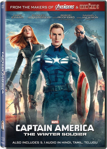 Buy Captain america: The winter soldier (Hindi) online for USD 12.17 at alldesineeds