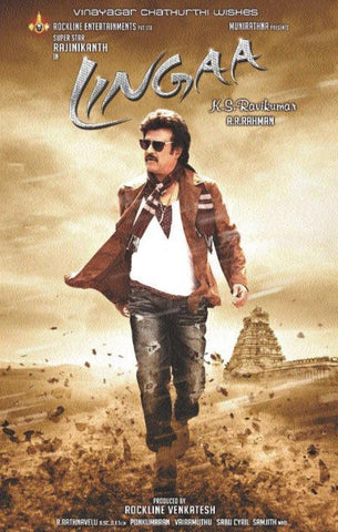 Buy Lingaa (Hindi): TAMIL DVD online for USD 9.45 at alldesineeds