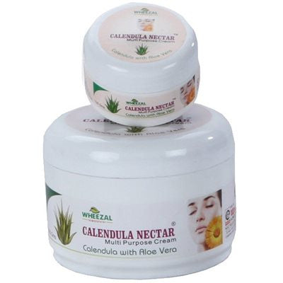 2 x Wheezal Calendula Nectar Cream (Calendula and Aloe Vera) (500g)