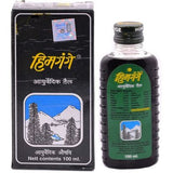 G K Burman Himgange Ayurvedic Oil (100ml)