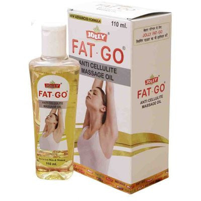 2 x Jolly Fat Go Anti Cellulite Massage Oil (110ml)