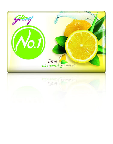 Buy Godrej No. 1 Lime & Aloe Vera 4x92 gms (set of 4 soaps) online for USD 16.13 at alldesineeds