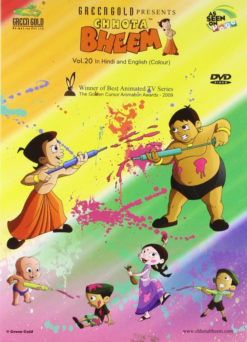 Buy Chhota Bheem - Vol. 20 online for USD 13.94 at alldesineeds