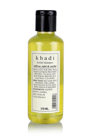 KHADI - Hair Growth Oil Tulsi Oil - 210ml - alldesineeds