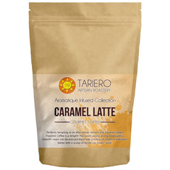 Tariero's Caramel Latte Flavoured Gourmet Coffee (Ground), 100g - alldesineeds