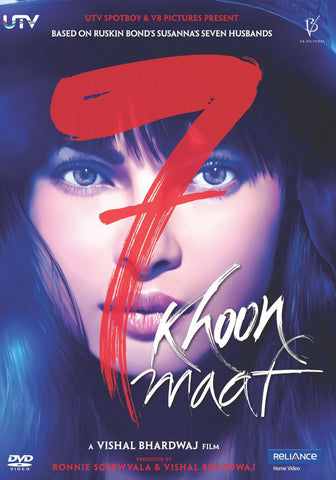 Buy 7 Khoon Maaf online for USD 11.44 at alldesineeds