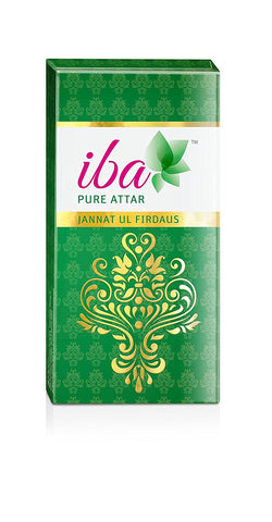 2 Pack Iba Halal Care Pure Attar Jannat Ul Firdaus, 10ml each - alldesineeds