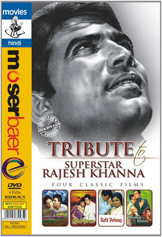 Buy Tribute to Rajesh Khanna (Aradhana/Amar Prem/Kati Patang/Mehboob Ki Mehendi) online for USD 13.61 at alldesineeds
