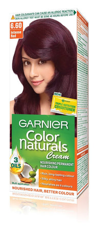 Buy 2 Pack Garnier Color Naturals Regular Pack, Intense Red online for USD 13 at alldesineeds