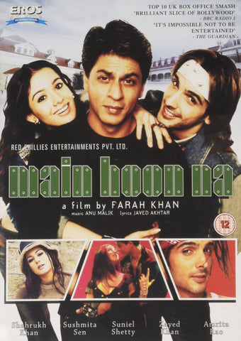 Buy Main Hoon Na online for USD 12.33 at alldesineeds