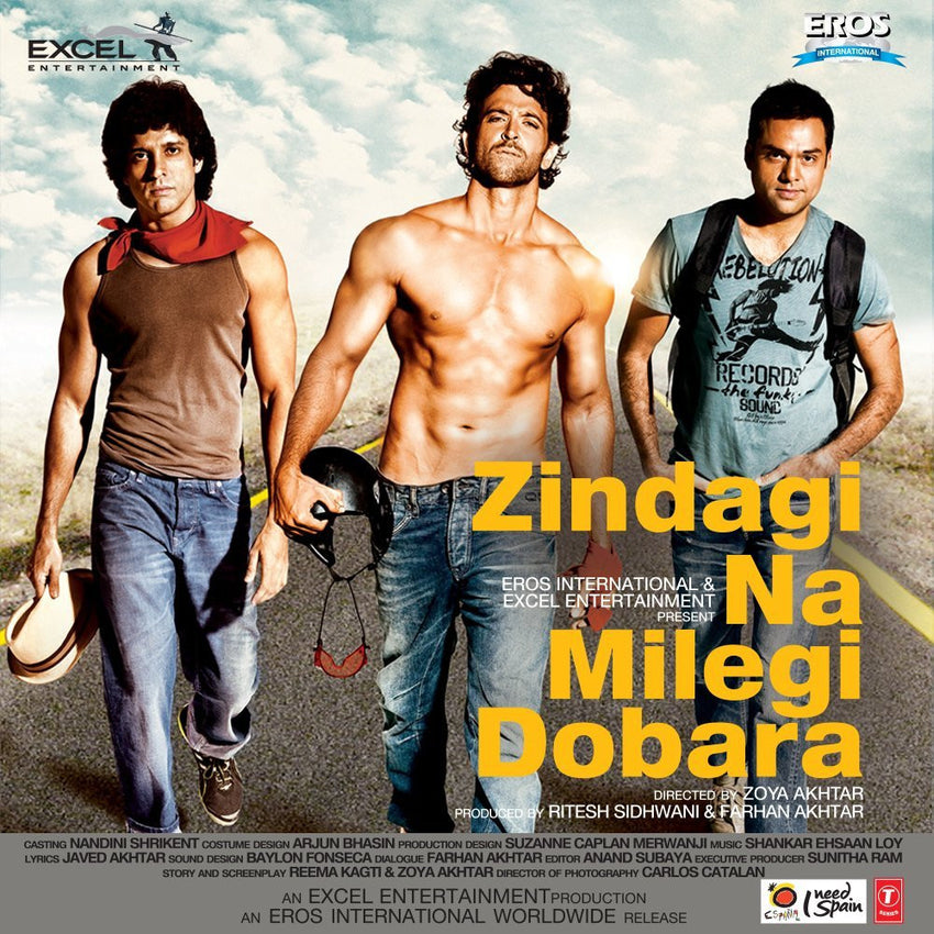 Buy Zindagi Na Milegi Dobara online for USD 15.28 at alldesineeds