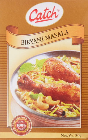 Buy 5 Pack Catch Briyani Masala 50 gms (Total 250 gms) online for USD 14.85 at alldesineeds