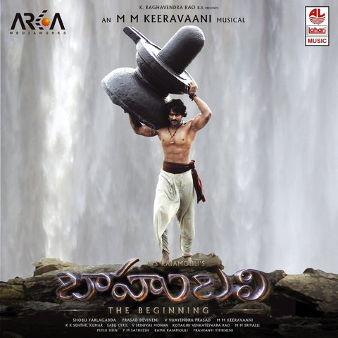 Buy Baahubali - Audio CD: TELUGU online for USD 8.75 at alldesineeds