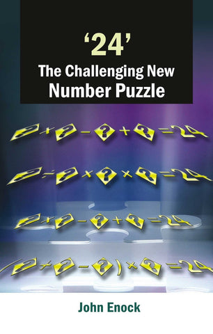 '24' the Challenging New Number Puzzle [Jan 10, 2001] Enock, John] [[Condition:New]] [[ISBN:8124802181]] [[author:John Enock]] [[binding:Paperback]] [[format:Paperback]] [[manufacturer:Peacock Books (An Imprint of Atlantic Publishers & Distributors (P) Ltd.)]] [[number_of_pages:152]] [[package_quantity:5]] [[publication_date:2010-01-15]] [[brand:Peacock Books (An Imprint of Atlantic Publishers & Distributors (P) Ltd.)]] [[ean:9788124802182]] [[ISBN-10:8124802181]] for USD 15.19