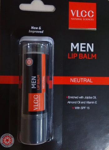 Buy 3 Pack VLCC Mens Lip Balm, 4.5gms each online for USD 11 at alldesineeds